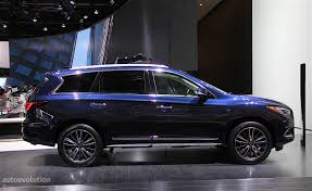 2016 infiniti qx60 infiniti qx60 shows restyled exterior in detroit autoevolution