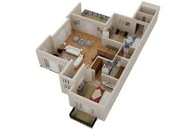 D  D House Floorplans Architectural Home Plans Netgains - 3d architect home design