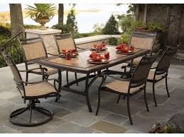 Patio Dining Set by Agio Maguire Outdoor Dining Set W Rectangular Table Becker