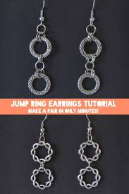 make jump rings images Quick jump ring earrings tutorial chic earring storage dream a jpg