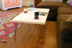 Hairpin Coffee Table Legs Coffee Table Spalted Maple Live Edge Coffee Table On Hairpin