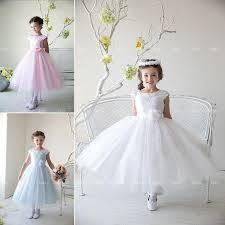 graduation dresses for kids flower girl princess dress kids party pageant wedding bridesmaid