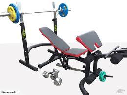 Rack Bench Press Bench Press With Squat Rack Fitness World Nz Trade Me