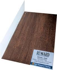 reward rigid plus royal oak onflooring