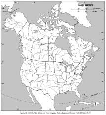map of us and canada blank us canada physical map