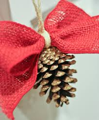 glittered pine cone ornaments may arts wholesale ribbon company