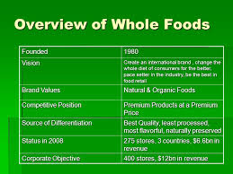 whole foods market case study ppt download