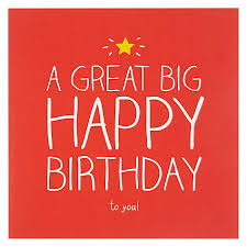 buy happy jackson big happy birthday card john lewis