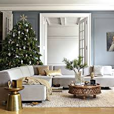 christmas home decorations ideas modern christmas living room decor diy your home small apartment