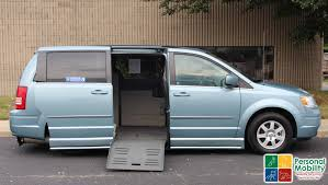 2010 minivan 2010 chrysler town and country stock ar309299 wheelchair van