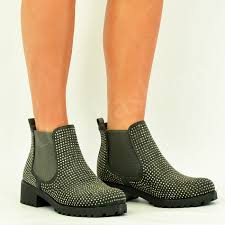 womens ankle boots uk womens ankle boots studed booties chunky heel winter
