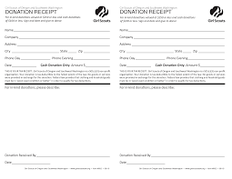 charitable donation tax receipt template example helloalive