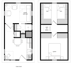 52 micro house floor plans the tiny 4 2 280 sq ft small house