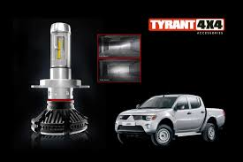 mitsubishi triton 2012 mitsubishi triton mn ml led headlight conversion kit u2013 tyrant 4
