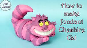 z cake toppers how to make fondant cheshire cat jak zrobić figurkę kota z
