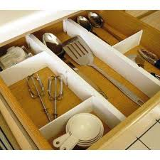 Plate Racks Kitchen Cabinet Organizers The Home Depot - Kitchen cabinet drawer dividers