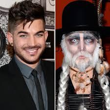 12 celebrities u0027 craziest halloween makeup transformations in