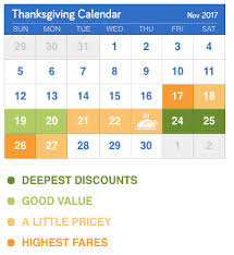 best time to buy thanksgiving airline tickets cheapair