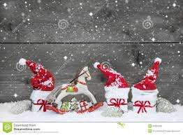 cute grey shabby chic christmas background in red and white stock