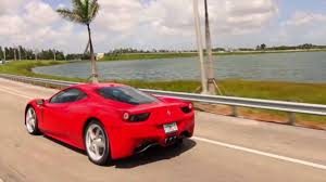 rent a 458 rental miami rent 458 488 miami experience