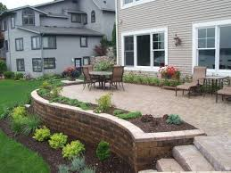 Retaining Wall Patio Design Image Result For Patio With Retaining Wall Backyard Pinterest