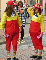 Tweedle Dee And Tweedle Dum Costumes Whitehaven Carnival 2008 Queens And Floats