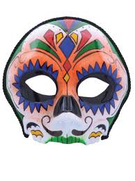 halloween day of the dead masks partynutters uk