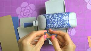 how to create a birthday card with spellbinders sapphire machine