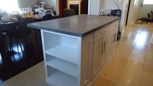 gray full bull nose quartz countertop for kitchen design built in