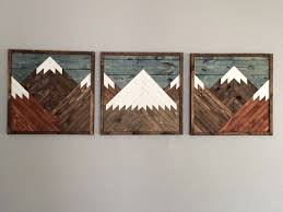 3 wood wall wood wall by dustysquaredesigns on etsy