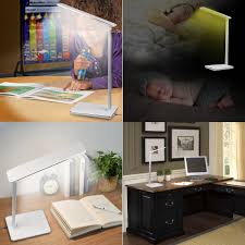 Jeeves Table L Portable Led Desk L With Qi Wireless Charger 4 Lighting Modes