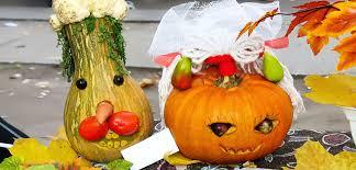 Halloween Decorations Pumpkins Halloween Decor Porches Pumpkins Gourds Eggplant Bombay Outdoors