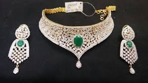 diamond set bridal american emerald diamond set at rs 6000 s bridal