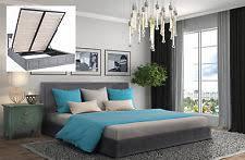 king size storage bed ebay
