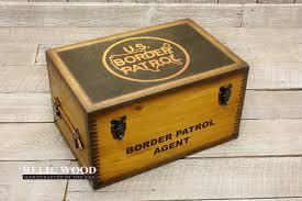 keepsake box us border patrol keepsake box