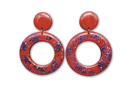 hoop la earrings lual statement earrings angel hoops