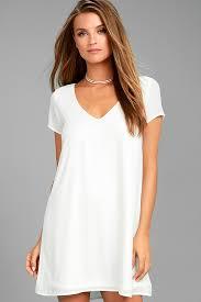shift dress chic sleeve dress v neck dress t shirt dress shift dress