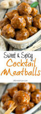 sweet and spicy cocktail meatballs a family feast