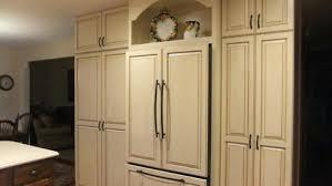 refrigerator that looks like a cabinet fridge that looks like cabinets painted built in refrigerator panels