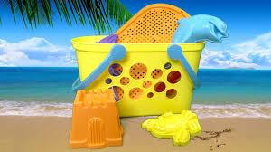 Beach Basket Beach Basket Set From American Plastic Toys Inc Youtube
