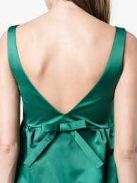 rochas green silk slip dress cocktail u0026 party dresses browns