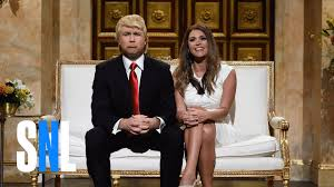 donald and melania trump cold open snl youtube