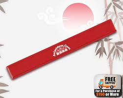 personalized chopsticks personalized chopsticks 9 5 plastic w sliding lid