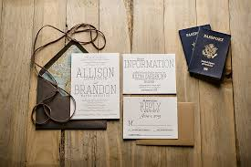 themed wedding invitations travel themed wedding invitation passport wedding invitation