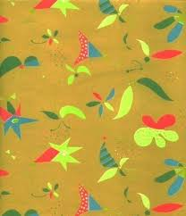vintage wrapping paper vintage wrapping paper funky design by sandycreekcollectables on