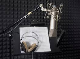 chambre d enregistrement microphone de condensateur dans la chambre d enregistrement photo