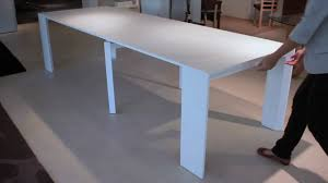 extending console dining table goliath console dining table youtube