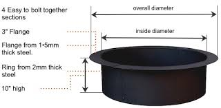 Firepit Liner New 60 Inch Pit Ring Pit Liner Pit Grill Ideas