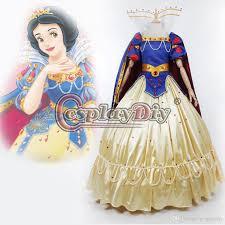 snow white princess costume deluxe dress halloween masquerade