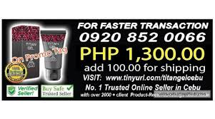 titan gel cebu seller since 2016 text call direct 0920 852 0066